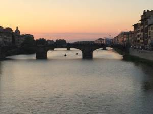 Sunset on the Arno 10 4